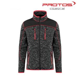 Gozdarska flis jakna PROTOS Inuit - temno siva