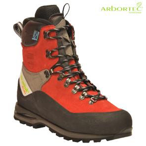 Zaščitna gozdarska obutev ARBORTEC SCAFELL LITE RED art. AT33400